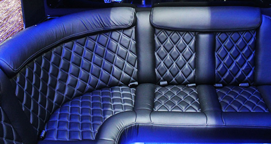 VT Limo Bus Seating