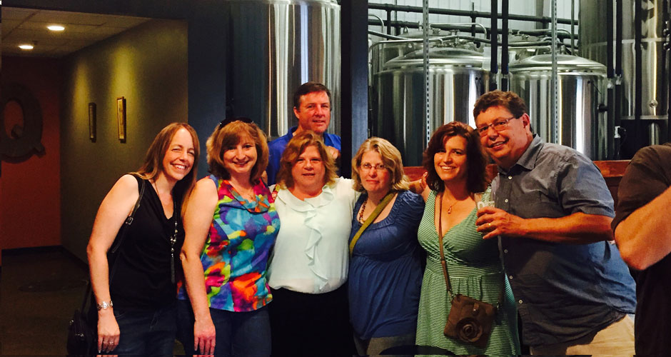 chauffeured queen city brewery tour