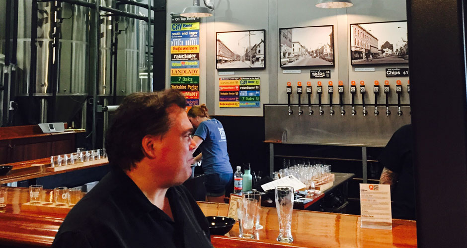 Queen City chauffeured brewery tour