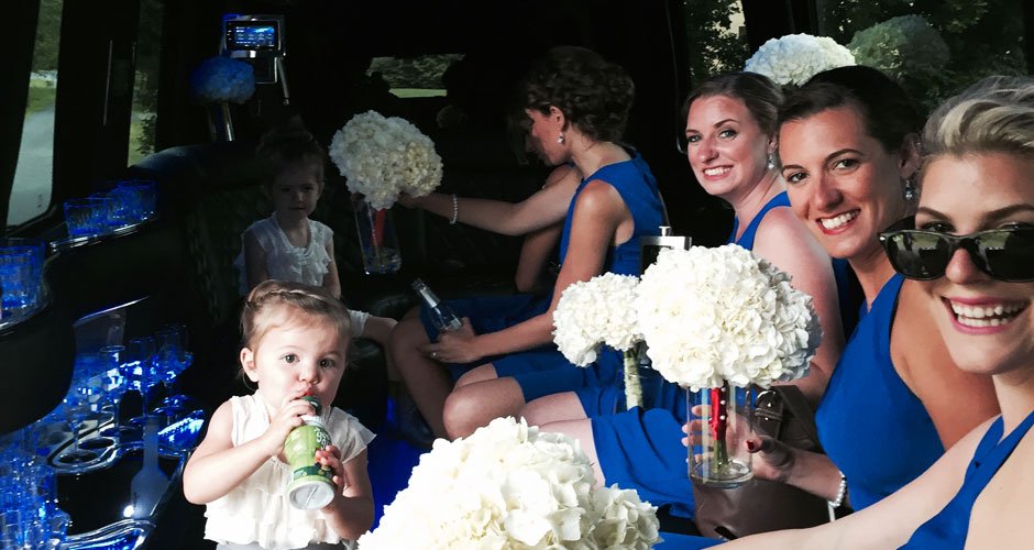 vermont wedding limousine