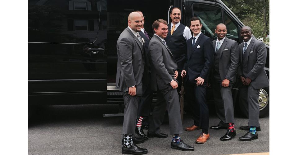 vt wedding limo groomsmen
