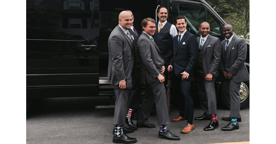 vt wedding limo groomsmen