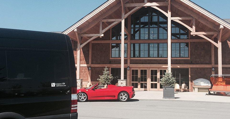 limo van stowe vt wedding