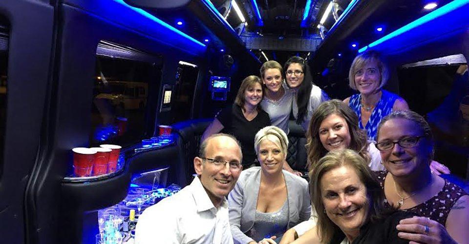 vermont corporate event limo van