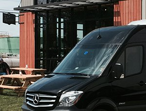 vt tap room brew tour limo van