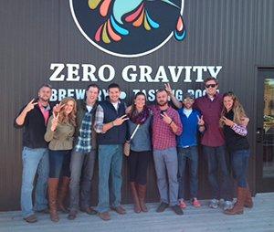 zero gravity vt brewery tour
