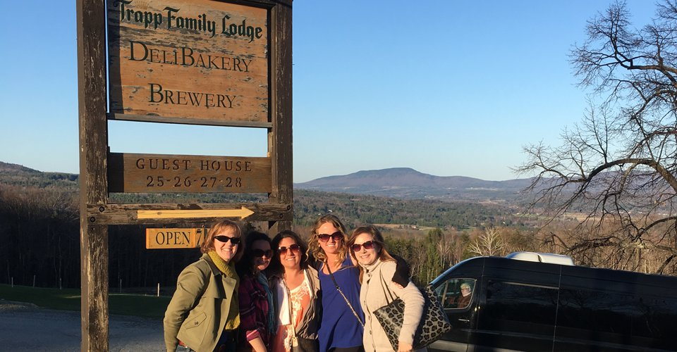 vt trapp family brewery tour limo