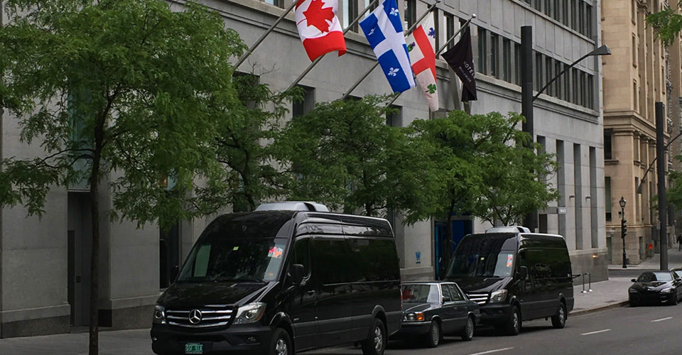 Chauffered Montreal Canada Limo Van Service