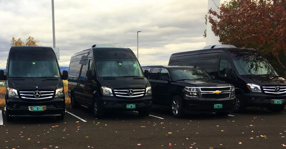 Vermont VIP Mercedes Limo Vans