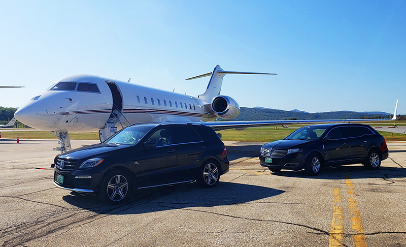 chauffeured airport transfer limos
