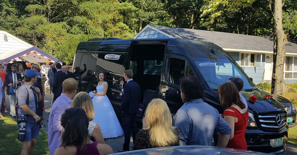 prom chauffeured limo services