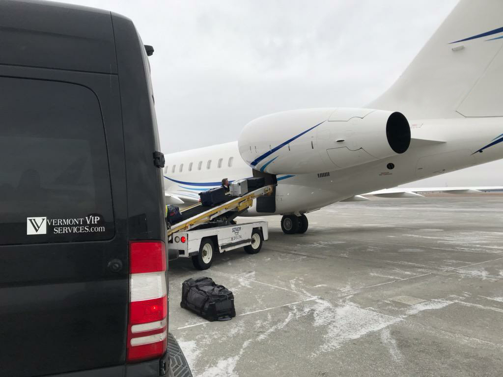chauffeured airport shuttle
