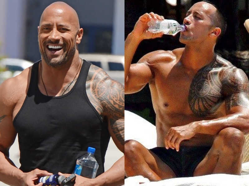The Rock Drinks a Truly Unfathomable Amount of This Every Day