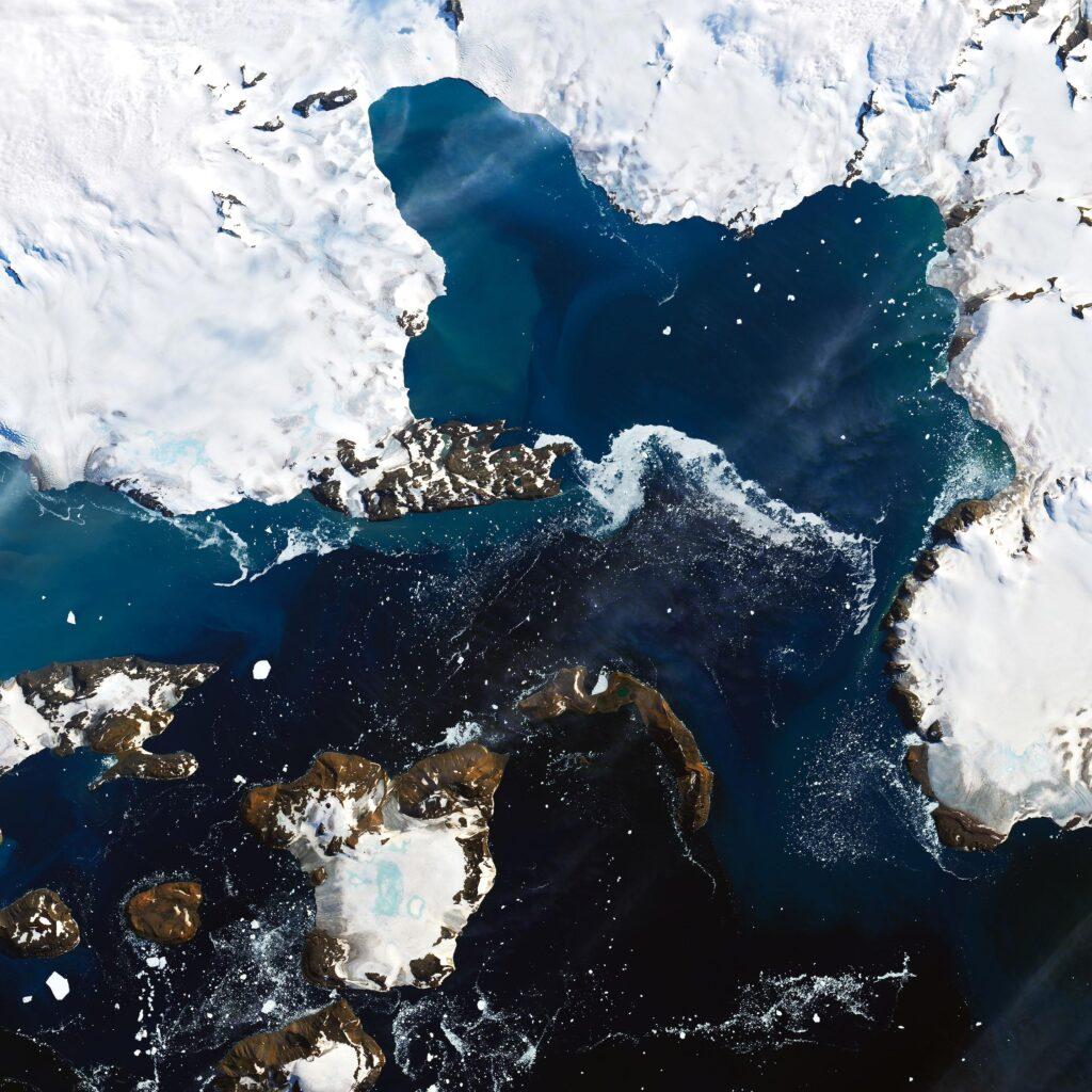 Bizarre Heat Source Coming From Below Antarctica