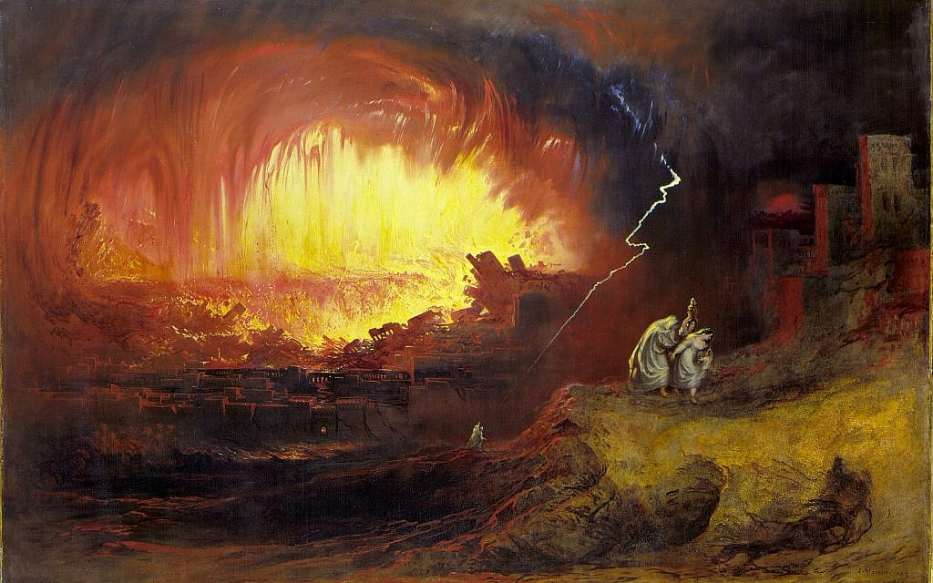"""Scientists Say That Sodom and Gomorrah Were Actually Destroyed by """"Fire From the Sky!"""""""