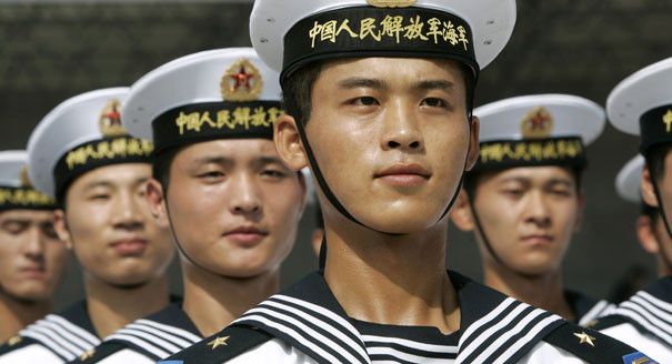 china naval soldiers