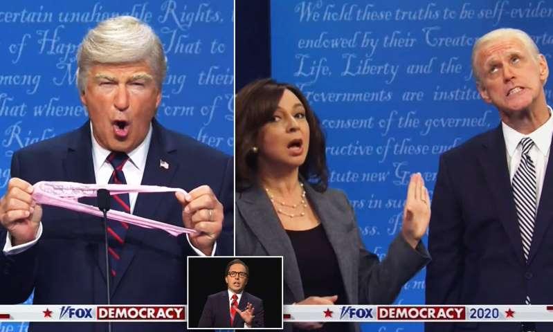 Jim Carrey and Alec Baldwin recreate Trump and Biden's debate on SNL