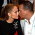 Jennifer Lopez And Alex Rodriguez Kissing