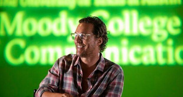 Matthew McConaughey At University Of Texas
