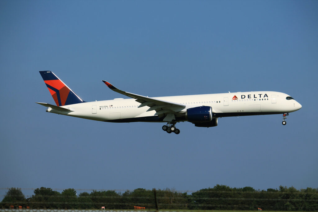 Delta Passenger Jumps Out of Moving Plane with Dog