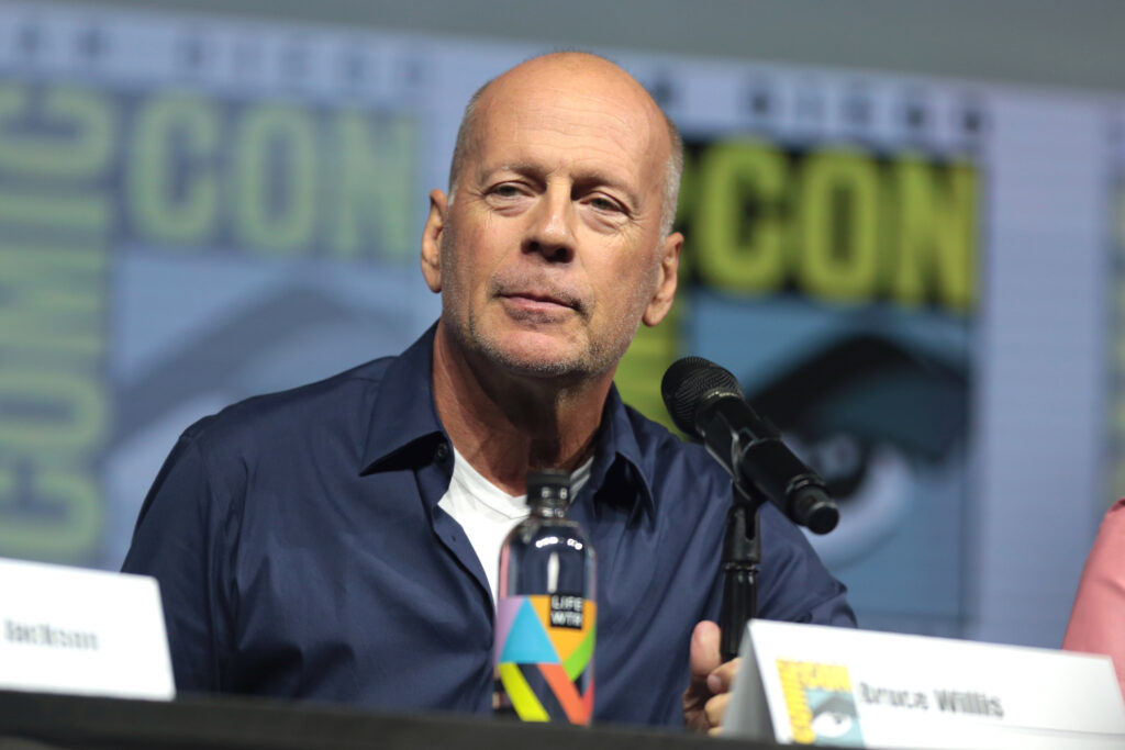 Bruce Willis Kicked Out of Store for Refusing to Wear Mask