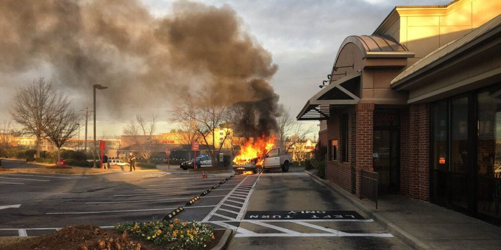 Chick-fil-A Sauce Combusts Without Warning!