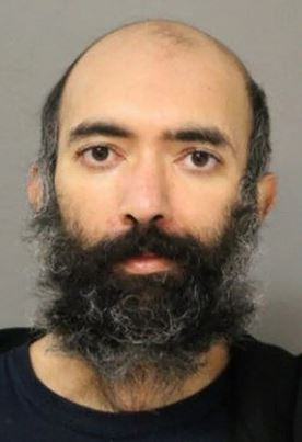 Mugshot Of Man Who Lived In Airport