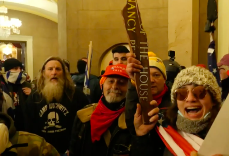 """Capitol Rioter With """"Camp Auschwitz"""" Sweatshirt Has Been Arrested"""