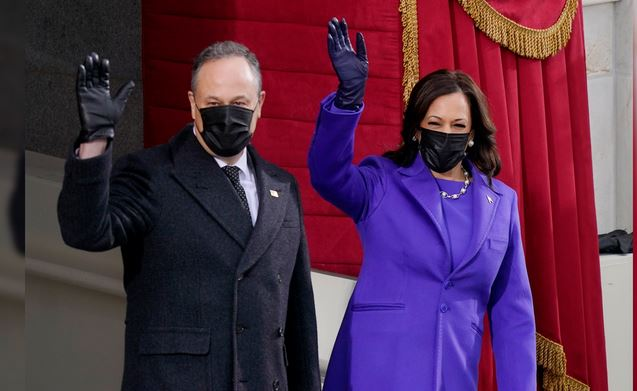 Why These People Were Wearing Purple to Biden's Inauguration