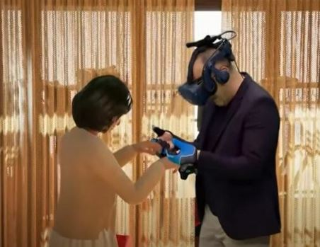 Man Reunites with Dead Wife Using Virtual Reality