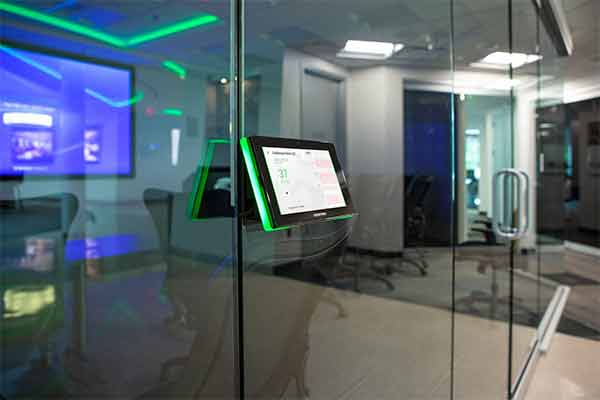Conference room schedulers make meetings possible