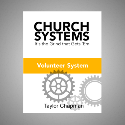 Church Systems: Volunteers