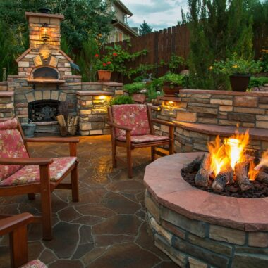 Patio and Fire Pit Pavers