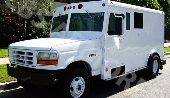 1996 Refurbished Ford F450 Armored Truck
