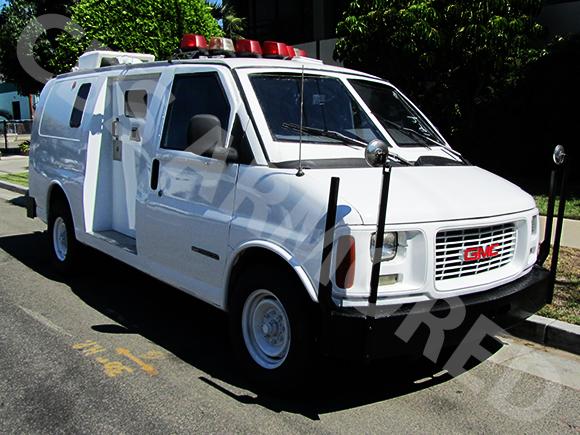 1997-Refurbished-GMC-Armored-Van