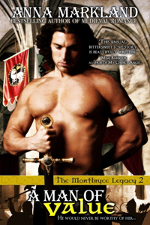 A Man Of Value by Anna Markland - a medieval romance novel
