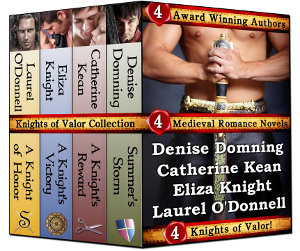 The Knights of Valor Collection of medieval romance novels