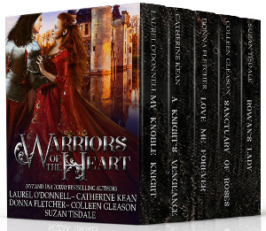 Warriors of the Heart - medieval romance boxed set
