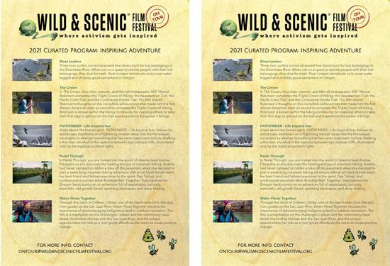 Wild & Scenic Film Festival 2021