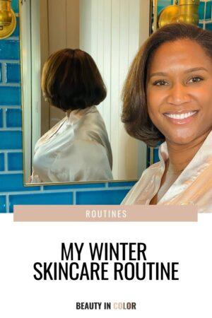 Winter Skincare Routine - Skincare for sensitive skin - skincare for eczema - skincare for black women