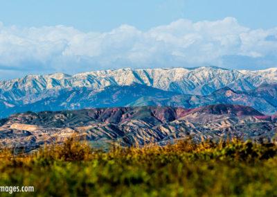 Thousand Oaks snowy mountains-1