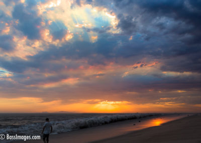 Mugu Beach sunset 9-1-2017-1