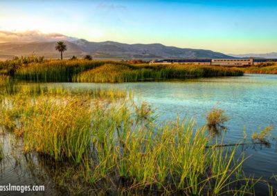 Ventura River estuary with train-1-2