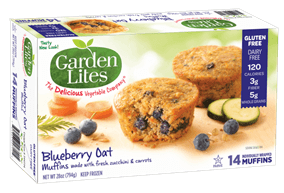 Blueberry Oat Muffins from Garden Lites Now Available at Costco in the Midwest for a Limited Time