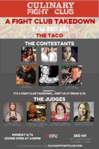 Culinary Fight Club Hosts Taco Challenge