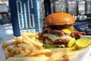 Celebrate National Burger Day at BIG Bar in Chicago