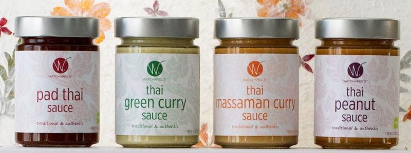 WATCHAREE'S Gourmet Thai Sauces Available Online for the Holidays