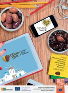 """OLIVE YOU, European Table Olives"" at Fancy Food Winter Trade Show 2018"