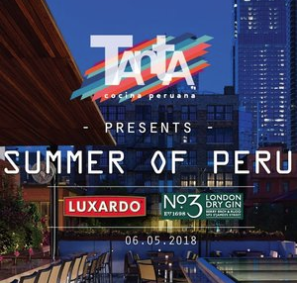 Summer of Peru: Tanta Officially Opens Rooftop Oasis on Tuesday, June 5