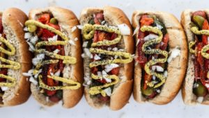 HOT DIGGETY DOG – JULY IS NATIONAL GRILLING MONTH! KEEP IT SIMPLE AND DELICIOUS WITH THESE BACKYARD BBQ TIPS & RECIPES FROM